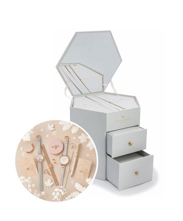 OLIVIA BURTON LONDON Bee Happy Gift SetOB16GSET32 – Bee Merry Box Gift Set - Front view