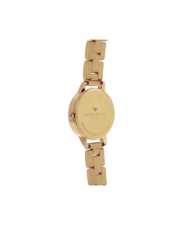 OLIVIA BURTON LONDON  Midi Dial Bracelet Gold Watch OB13BL04B – Midi Dial Round in Gold - Back view