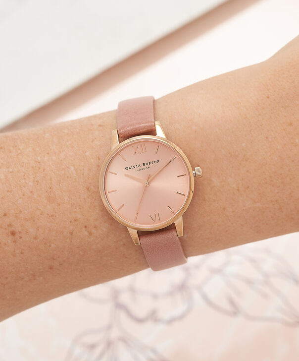 OLIVIA BURTON LONDON  Midi Dial Rose And Rose Gold Watch OB15MD40 – Midi Dial Round in Rose Gold and Rose - Other view