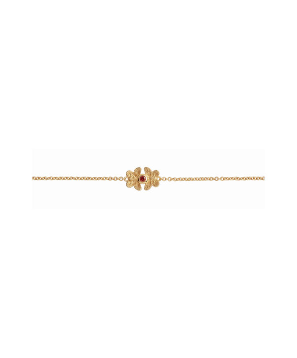 OLIVIA BURTON LONDON 3D Butterfly Gift Set Red & GoldOB16GSET27 – Demi Dial In Red And Gold - Other view