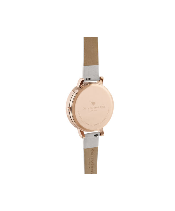 OLIVIA BURTON LONDON 3D Bee Big Dial Blush Sunray Blush & Rose GoldOB16AM158 – Demi Dial In Pink And Rose Gold - Back view
