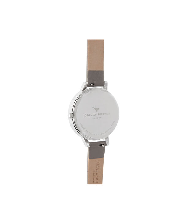 OLIVIA BURTON LONDON Celestial Demi Dial WatchOB16GD26 – Demi Dial in grey and Silver & Rose Gold - Back view