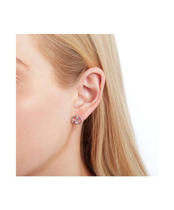 OLIVIA BURTON LONDON The Classics Interlink Earrings SilverOBJCOE71 – SHOPBAG_LABEL - Other view