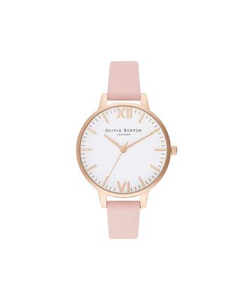 OLIVIA BURTON LONDON Timeless Dusty Pink & Pale GoldOB16TL14 – Timeless Dusty Pink & Pale Gold - Front view