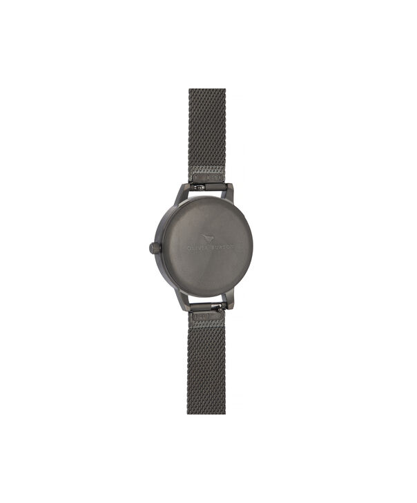 OLIVIA BURTON LONDON Twilight Midi Dial WatchOB16TW07 – Midi Dial in black and Gunmetal - Back view