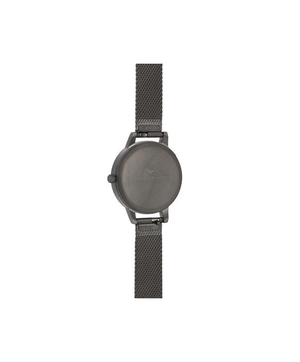 OLIVIA BURTON LONDON Twilight Midi Dial WatchOB16TW07 – Midi Dial in black and Gunmetal - Back view