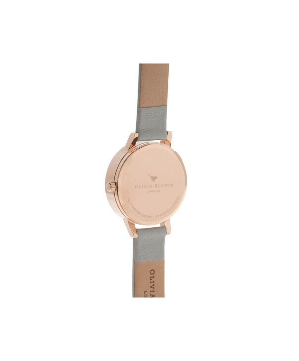 3d1f5593fe7d ... OLIVIA BURTON LONDON 3D Daisy Grey   Rose Gold Watch OB15EG50 – Midi  Dial Round in ...