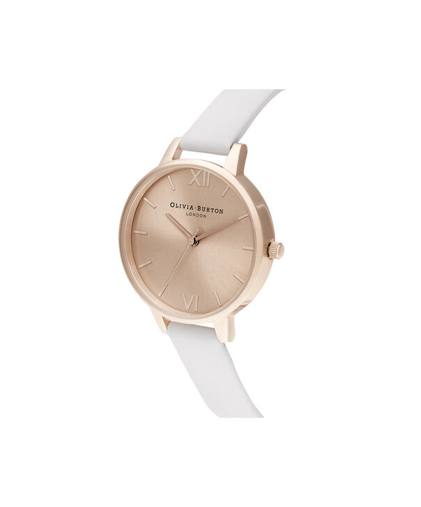OLIVIA BURTON LONDON Demi Sunray Blush & Pale Rose GoldOB16DE08 – Demi Dial In Pink And Rose Gold - Side view