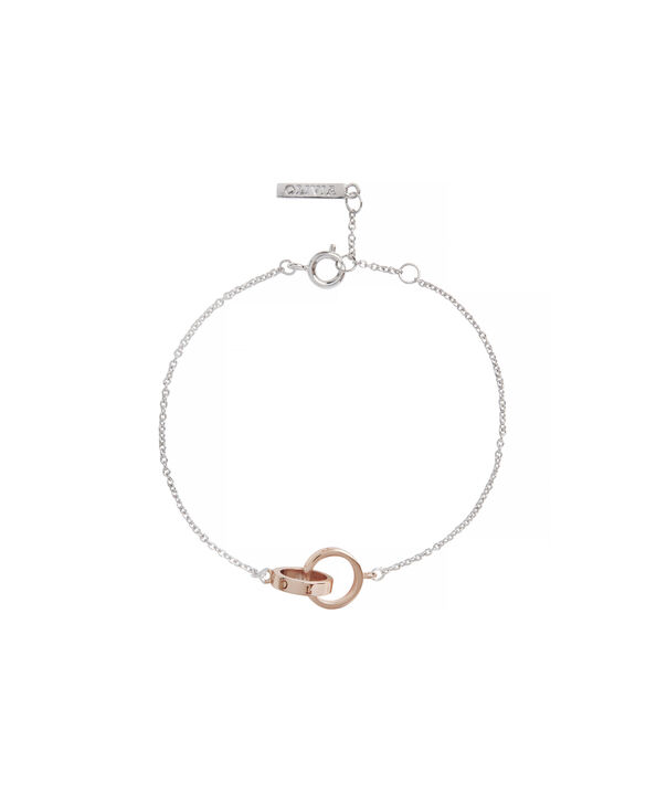 OLIVIA BURTON LONDON The Classics Chain BraceletOBJENB15B – The Classics Chain Bracelet - Front view