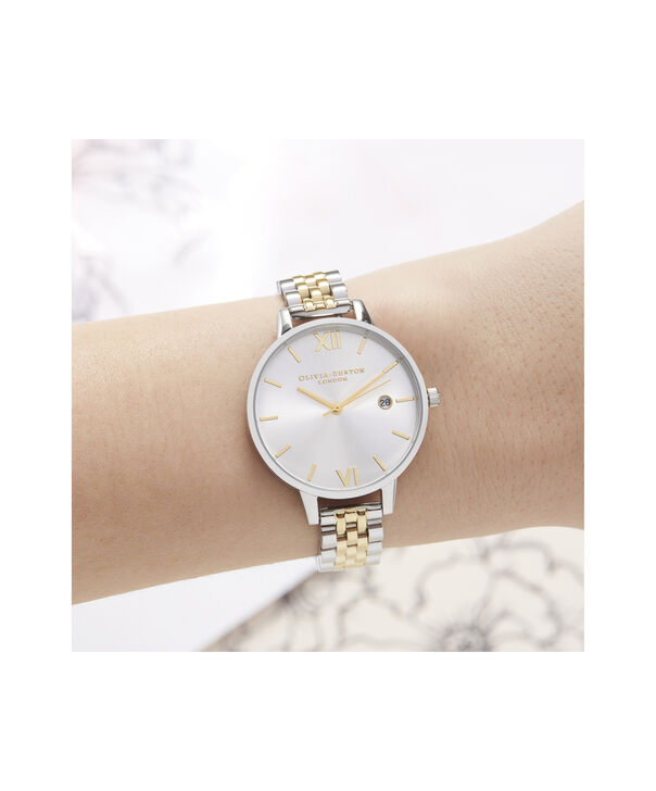OLIVIA BURTON LONDON Sunray Demi Dial WatchOB16DE05 – gold and Silver & Gold - Other view
