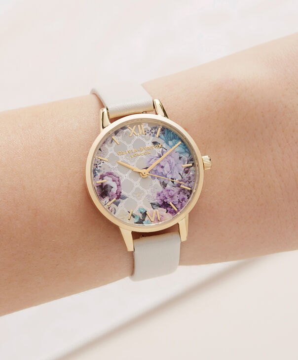 OLIVIA BURTON LONDON  Glasshouse Nude & Gold OB16EG99 – Midi Dial Round in Gold and Nude - Other view