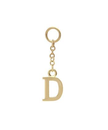 OLIVIA BURTON LONDON Initital Charm D GoldOBJ16HCGD – Charm in Gold - Front view