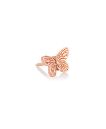 OLIVIA BURTON LONDON 3D Butterfly Pin Rose GoldOBPIN09 – 3D Butterfly Pin Rose Gold - Front view