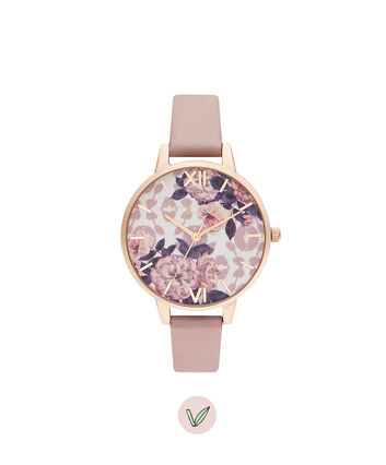 OLIVIA BURTON LONDON Wildflower Vegan Rose & Pale Rose GoldOB16LP03 – Wild Flower Vegan Rose & Pale Rose Gold - Front view
