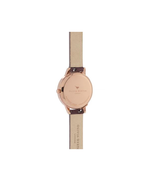 OLIVIA BURTON LONDON Case Cuff Diamante Midi Dial WatchOB16CB21 – Midi Dial in pink and  Rose Gold - Back view