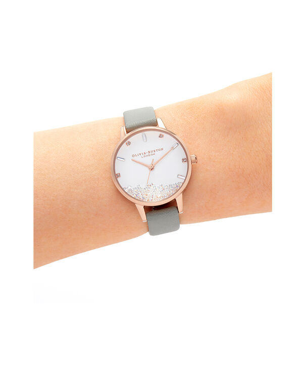 OLIVIA BURTON LONDON The Wishing Watch Grey & Rose GoldOB16SG08 – The Wishing Watch Grey & Rose Gold - Other view