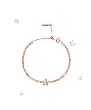 OLIVIA BURTON LONDON Celestial Star Chain BraceletOBJ16CLB02 – Celestial Chain Bracelet - Front view