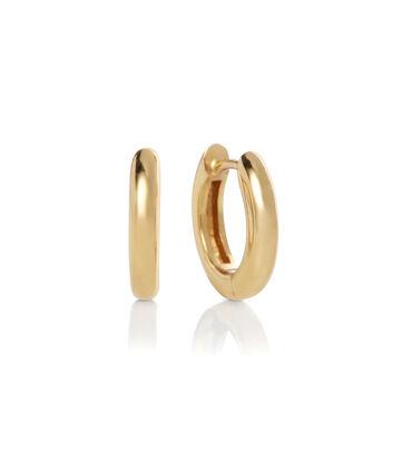 OLIVIA BURTON LONDON Huggie Hoop EarringsOBJ16COE24 – Huggie Hoop Earrings - Front view