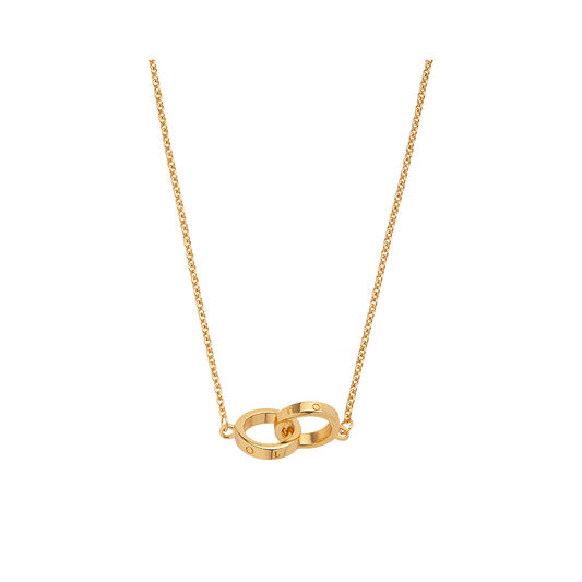 Interlink Necklace Gold