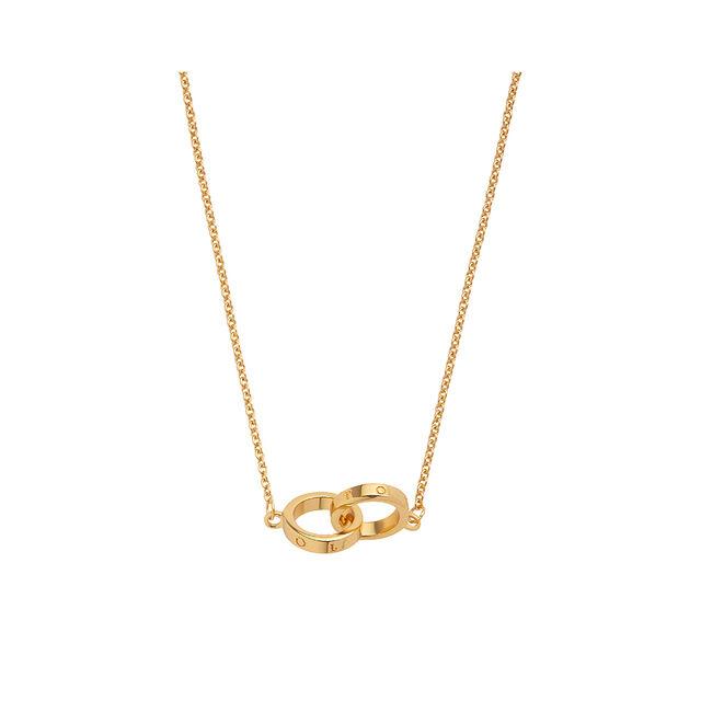 Interlink Gold Necklace