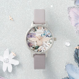 Midi 3D Bee Parma Violet, Rose Gold & Silver