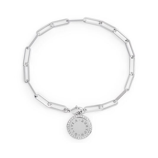 Bejewelled Classics Silver Chain Bracelet