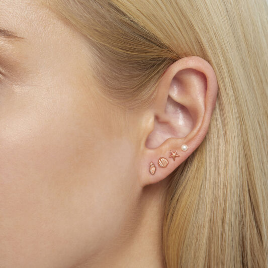 Assorted Rose Gold Studs Pack