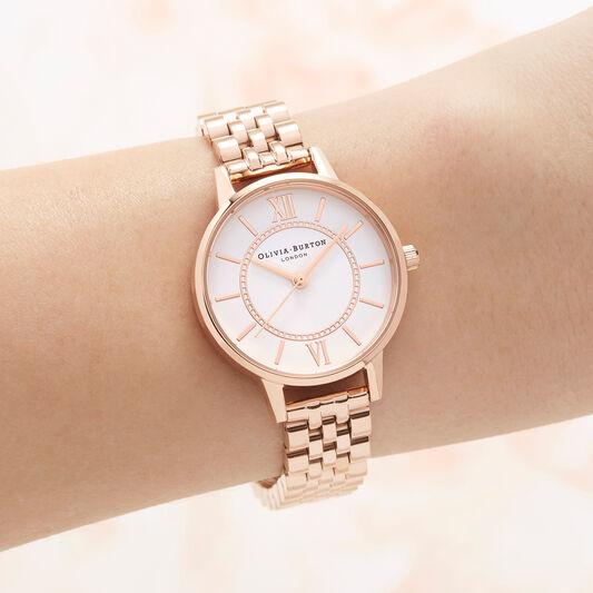 Wonderland Bracelet, Rose Gold