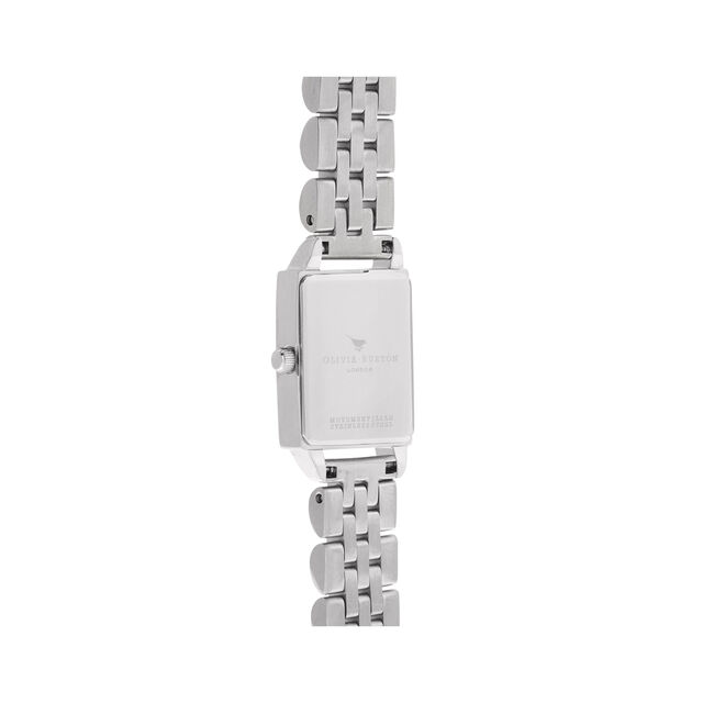 Bee Hive, Mother of Pearl Silver Bracelet Watch