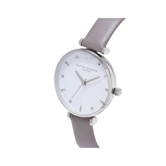 Queen Bee Strap London Grey & Silver Watch