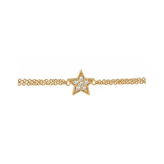 Celestial Star Chain Bracelet