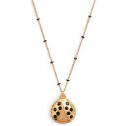 Ladybird Necklace Gold