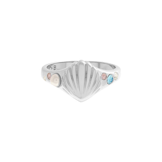 Under The Sea Silver Signet Ring