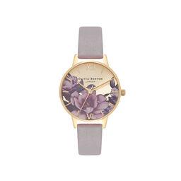 Olivia Burton Peony Parlour Sunray Midi Dial Watch