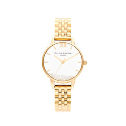 Wishing Watch, Gold Bracelet