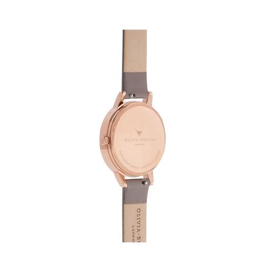 Wonderland London Grey & Rose Gold Watch