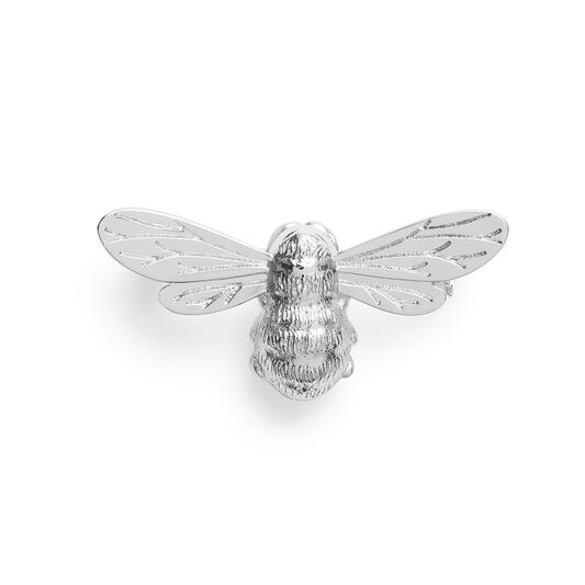 Lucky Bee Silver Brooch