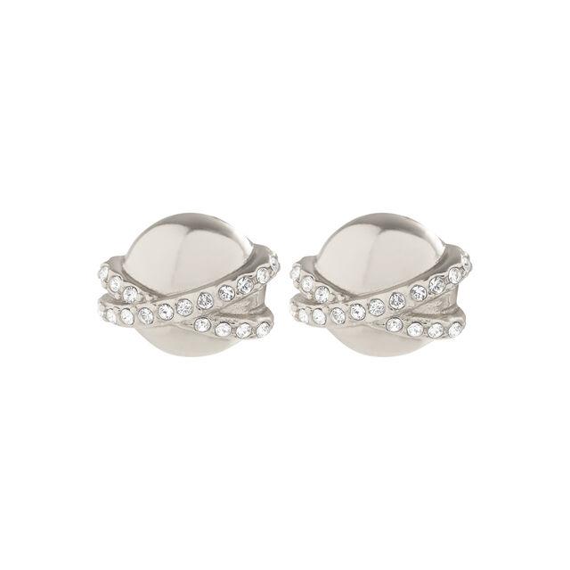 Planet Silver Stud Earrings