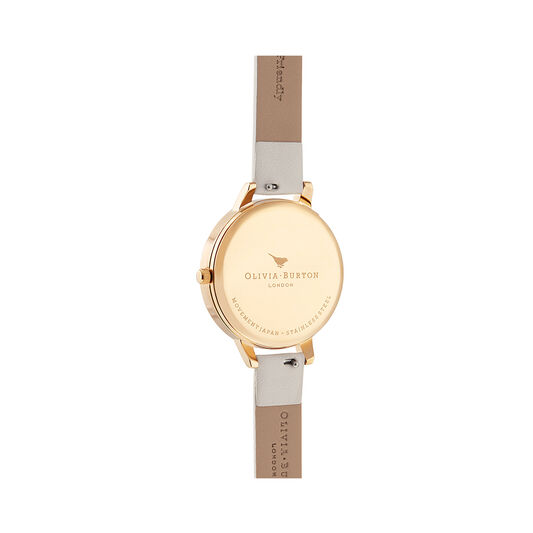 Best In Show Vegan Cream & Gold Watch