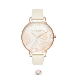 Abstract Florals Vegan Nude & Rose Gold