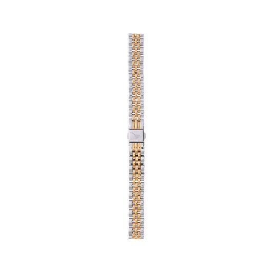 Midi/Demi Dial Gold & Silver Bracelet Watch Strap
