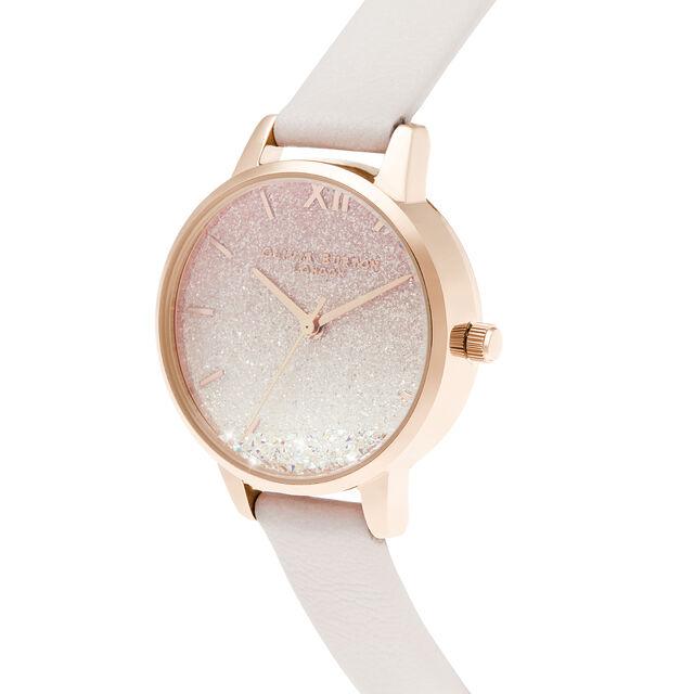 Sunrise Wishing Wave Midi Dial Pearl Pink & Rose Gold Watch