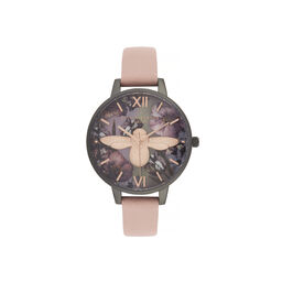 Twilight Demi Dial Watch with Lilac Mother-Of-Pearl