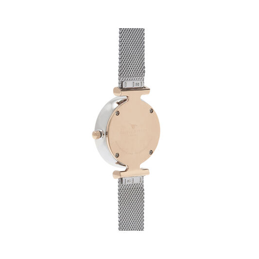 Queen Bee Silver Mesh Watch