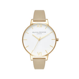White Dial Sand & Gold