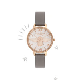 Celestial 3D Bee Demi Dial Watch