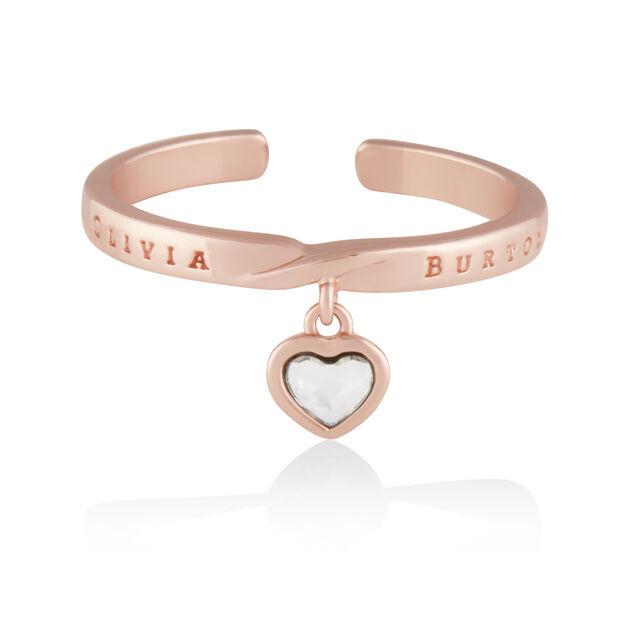Interlink Heart Gift Set Rose Gold