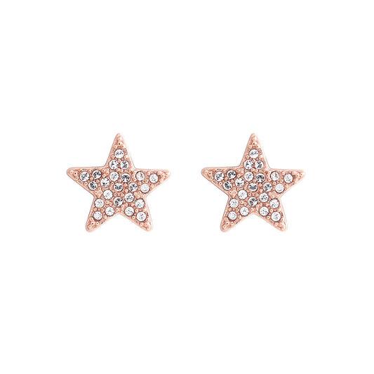 Star Rose Gold Stud