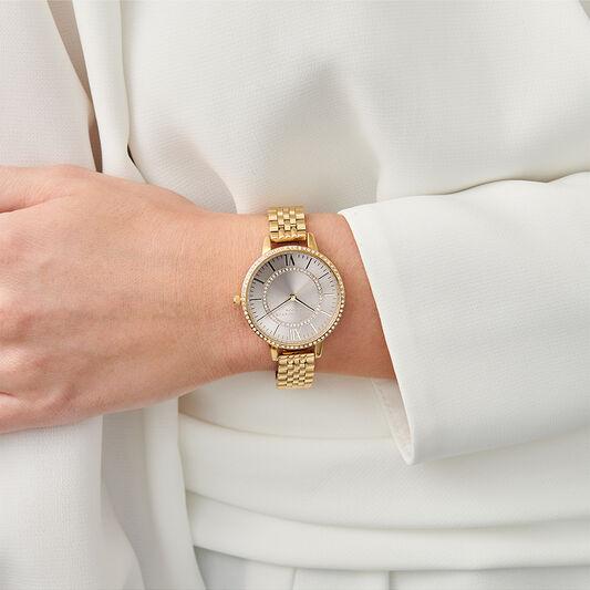 Wonderland Blush Demi Dial Gold Watch