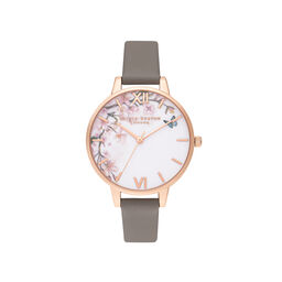 Pretty Blossom Demi London Grey & Rose Gold